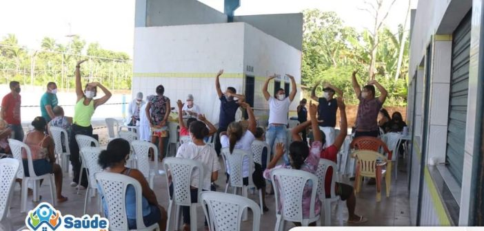 Ação Saúde na Comunidade no Jaburu
